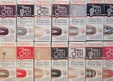 Lot of 10 Sally Hansen Salon Insta Gel Strips You Choose Color or Design NIB