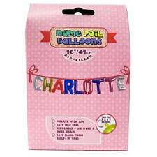 Royal County Products Name Foil Balloons - Charlotte - New