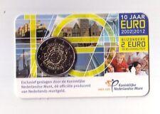 Olanda   2 € 2012 10 anni  TYE coincard