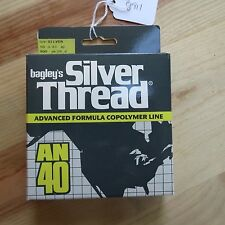 Vintage Bagley's Silver Thread fishing line Bagley fishing lure comp. (lot#8911)