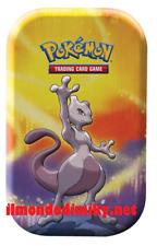 Pokemon Mini Tin da collezione Prodigi di Kanto MEWTWO  dal 6 settembre