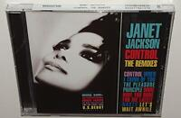 JANET JACKSON CONTROL THE REMIXES (2019 REISSUE) BRAND NEW SEALED CD