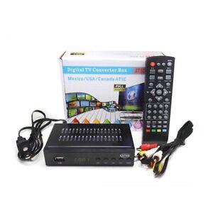 Full HD Atsc TV Box Digital Convertor Receiver For USA/Mexico/Canada RECEIVER
