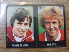 1979/1980 Football Sticker 79/80: 167) Liverpool - Phil Neal & 331) Barnsley - T