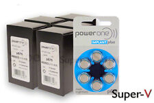 300 Power One Cochlear Implant Batteries Size 675P (Implant Plus) +Free KeyChain