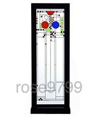 Frank Lloyd Wright Middle Coonley Stained Art Glass Panel