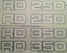 YAMAHA RD250LC RD350LC latéral PANNEAU STICKERS