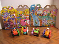 Warner Bros. Tiny Toons Flip Racer Cars - McDonalds Kids Meal Toys 1991