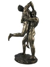 10.75 Hercules and Antaeus Greek Mythology Figurine Figure Roman Decor Statue