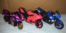 Transformers Revenge Of The Fallen Arcee Purple & Pink & Chromia Used READ
