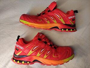 SALOMON XA Pro 3D GTX Goretex Trail Running Shoes Mens Size UK 10.5 (Euro 45)