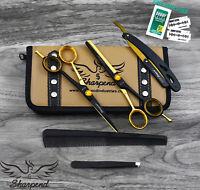 """Hairdressing Scissors Barber Scissors Salon Hair Thinning Shears Tool Kit 6.5"""""""