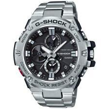 Casio G-Shock G-Steel Stainless Steel Bluetooth Solar Watch GSTB100D-1A New