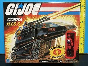 "G.I. JOE Retro Collection Cobra H.I.S.S. & Driver 4"" NEW 💥SHIPS🌎WORLDWIDE💥"