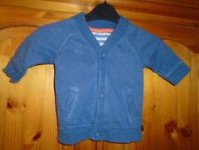 Baby boys blue long sleeve cardigan, GEORGE, 3-6 months