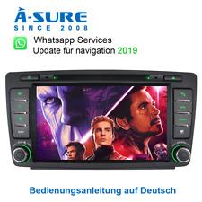 Autoradio DVD GPS für SKODA Octavia II Navi SWC DAB+ MP3 RDS RDS MP3 MP4 USB SD