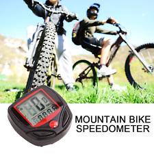 Bicycle Speedometer, Odometer, Stopwatch, Computer - Mountain Bike - UK Stock