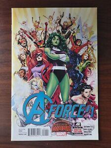 A-Force #1 (2015) 1st Appearance of SINGULARITY. All Female Team!! She-Hulk!!