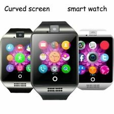 Q18 Bluetooth Smart Watch Compatible With Android & iOS GSM GPRS SIM Camera
