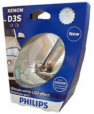 D3S PHILIPS WhiteVision gen2 LED effect Lot de 1 ampoule  42403WHV2S1