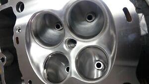 KTM 450 gas flowed cylinder head