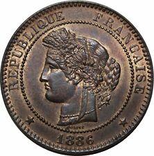 O286 Rare 10 Centimes Cérès 1886 A Paris FDC !!!!! > Faire offre
