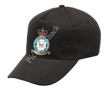 RAF 100 SQUADRON CREST PRINTED ON A BASEBALL CAP. ONE SIZE WITH ADJUSTABLE STRAP
