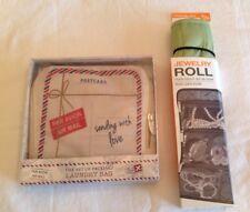 Women's Jewelery Roll Organizer Travel Laundry Bag Multi-purpose Set Of 2 New