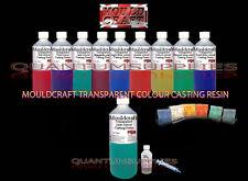 250g MOULDCRAFT TRASPARENTE Jade Colore Kit di resina da colata-artigianato-ACQUA CHIARA