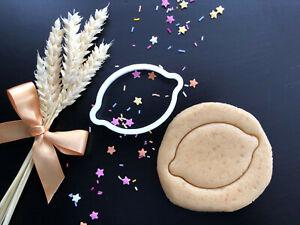 Lemon Cookie Cutter | Fondant Cake Decorating | UK Seller
