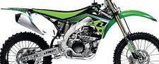 KAWASAKI KXF 250 RACE GRAPHICS KIT & SEAT COVER KX250F 2009 2010 2011 2012 OEM
