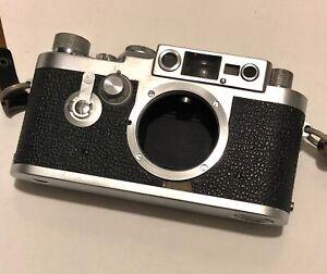 Leica 3G Body ERNST LEITZ WETZLAR Nr. 956 427 Vintage used working gem. Look.