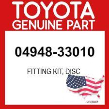 TOYOTA GENUINE 04948-33010 FITTING KIT, DISC OEM