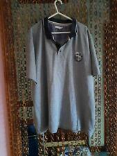 Mens Mottled Grey Polo Shirt Size 2xl
