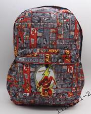 Hot DC The Flash School Bag Bookbag Laptop Bag Backpack Rucksack Bag L50