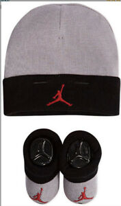 Nike Baby Hat and Booties 2 Piece Set 0-6 Months