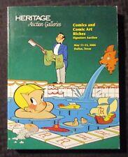 2006 HERITAGE Comics Comic Art Auction Catalog FVF 7.0 Ritchie Rich 502pgs