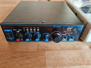 Bluetooth Amplifier with USB FM AUX MIC Microphone input BT-309A