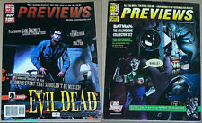 Nov 2007 issue of PREVIEWS Sam Raimi 30 DAYS OF NIGHT Mark Verheiden JOHN BOLTON