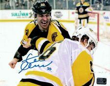 Zdeno Chara Boston Bruins Signed Autographed Fight Penguins Oleksiak 16x20 B