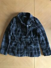 Woman's Stylish Fall Jacket With Belt Large