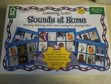 Listening Lotto Sounds at Home Cd & 12 Photo Game Boards school/ homeschool