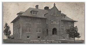 Bar Size Postcard PA Hershey Chocolate Company Hershey Park High School Q24