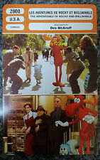 US animated comedy The Adventures of Rocky and Bullwinkle French Film Trade Card