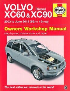 Haynes Handbuch Volvo XC60&XC90 Diesel Reparaturanleitung/Reparatur-Buch/Wartung