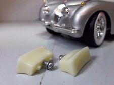 Jaguar XK 120 140 150 XK120 XK140 XK150 Round Smiths Heater Door Handles Knobs