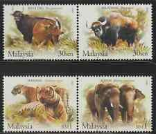 (315)MALAYSIA 2004 WILDLIFE IN THE MALAYSIAN FOREST SET FRESH MNH