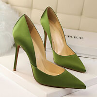 Fashion Concise High Heels Shoes Party Wedding Women Pumps Heels Dress Shoes