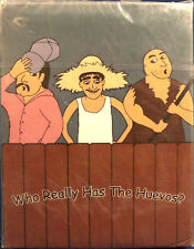 Who Really Has The Huevos? Card Game Over the Edge Games 2002 Sealed Free Ship