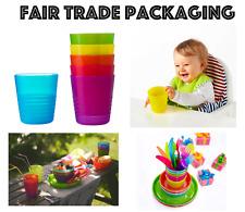 Ikea Kalas Children's Kids Plastic Cups / Mugs x 6 Party Picnic